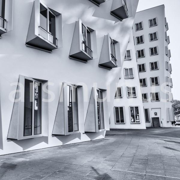 Impressionen Medienhafen Düsseldorf in schwarzweiss - Bild 26