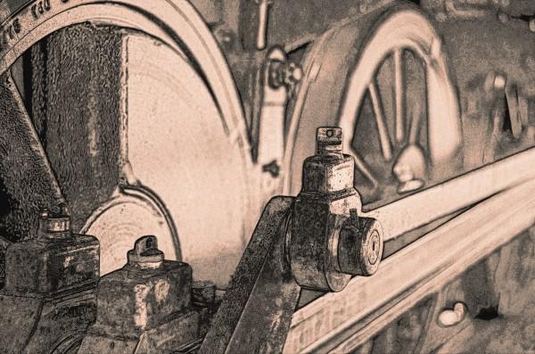 Zugräder - skizziert dargestellt