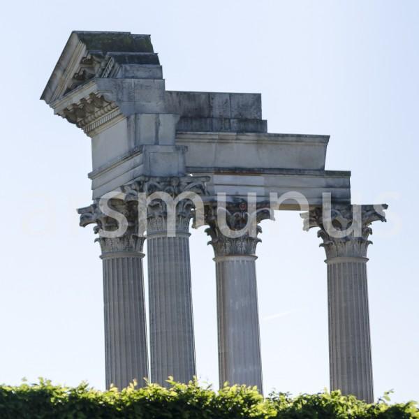 Tempelsäulenfragment Archäologischer Park Xanten