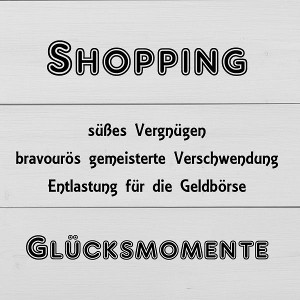 Elfchen Shopping