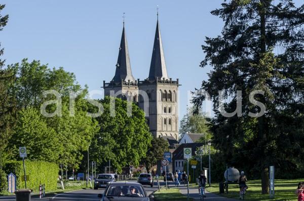 Stadtbild Dom zu Xanten